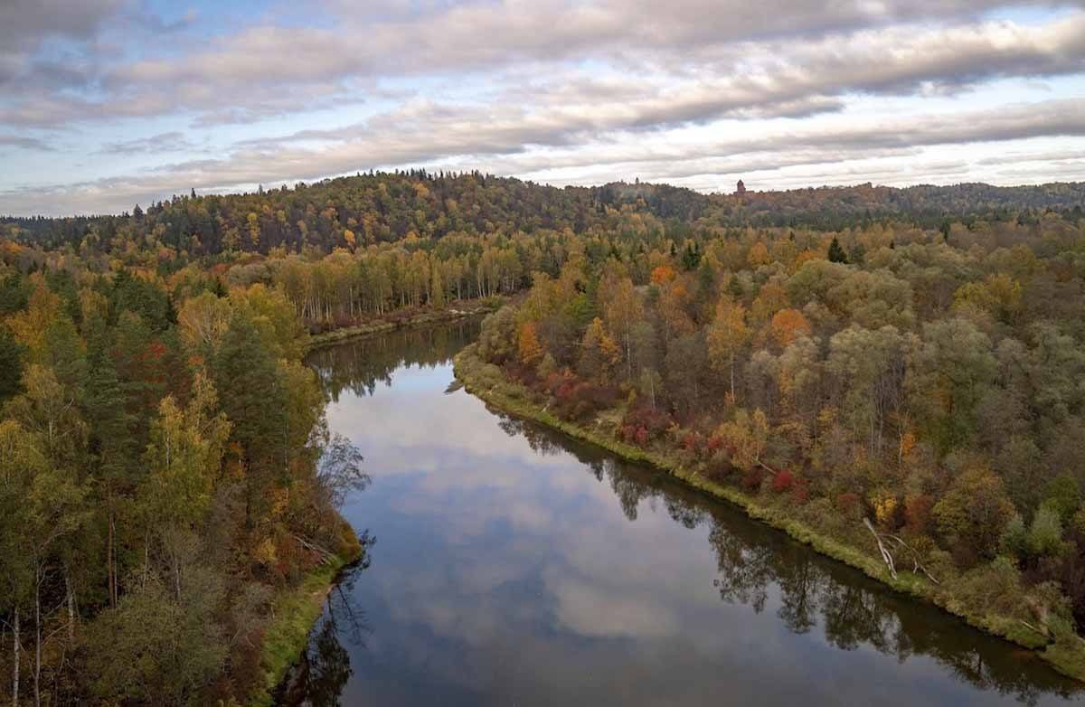 sigulda latvia river views