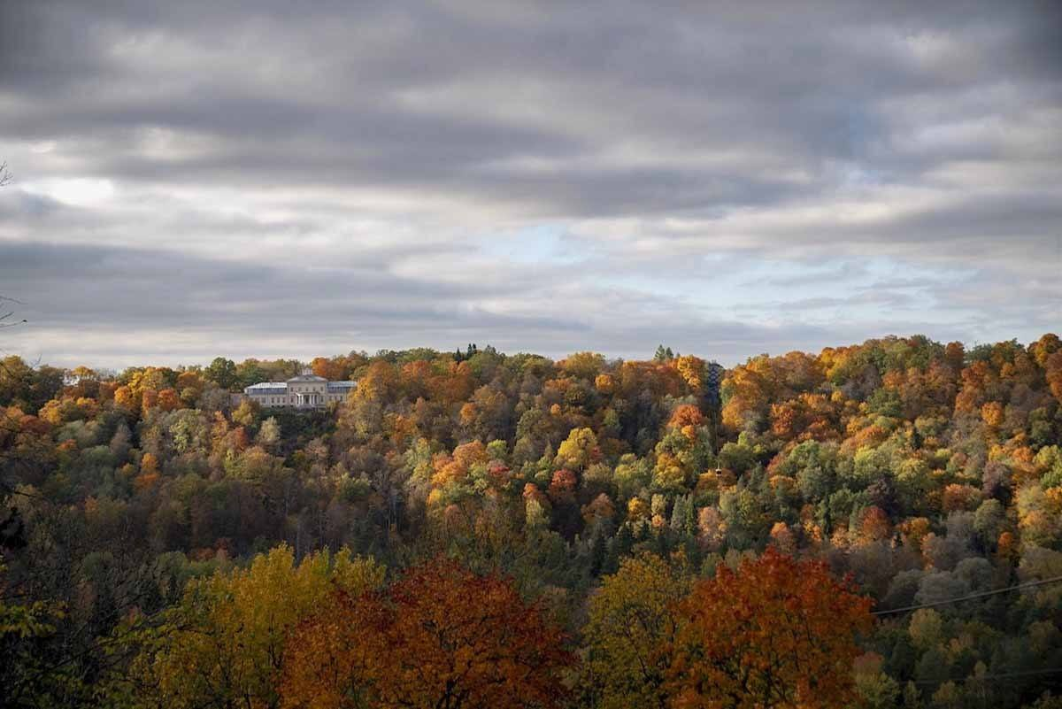 sigulda latvia views autumn