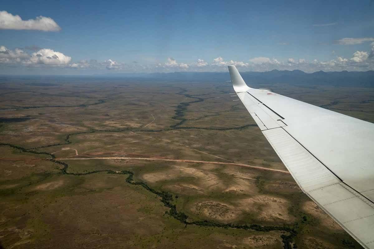 charter plane guyana south america
