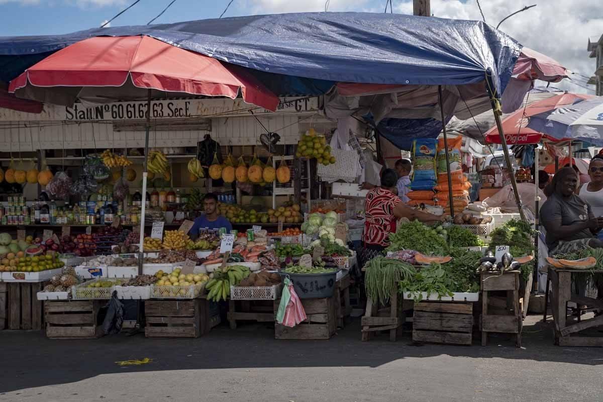 guyana caribbean market