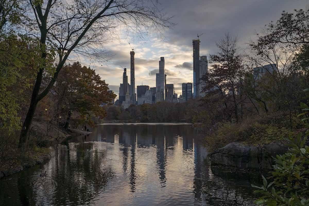 central park autumn new york