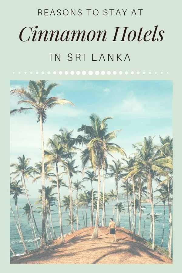 cinnamon hotels sri lanka pin