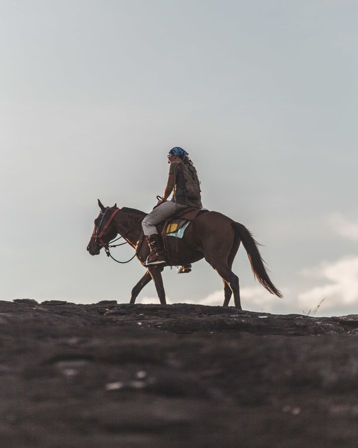 horse riding guyana girl hill