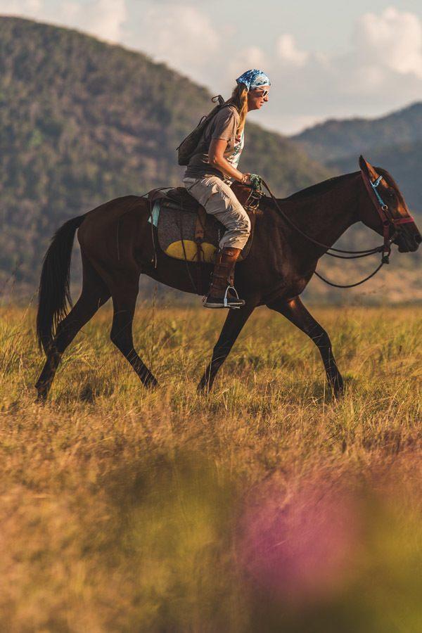 horse riding guyana girl