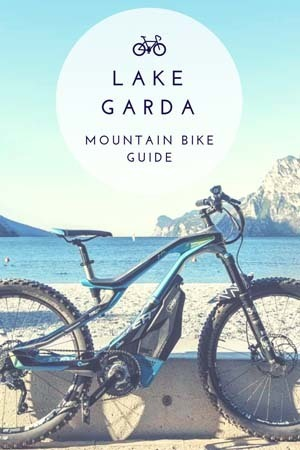 mountain bike in lake garda guide