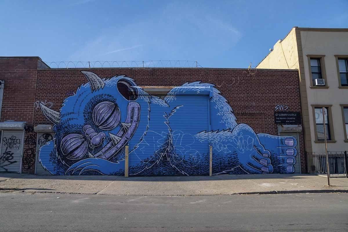 unusual new york bushwick street art