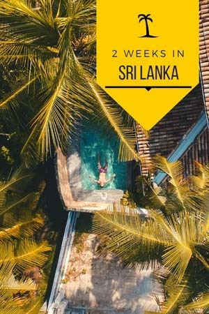 where to go in sri lanka if you have two weeks