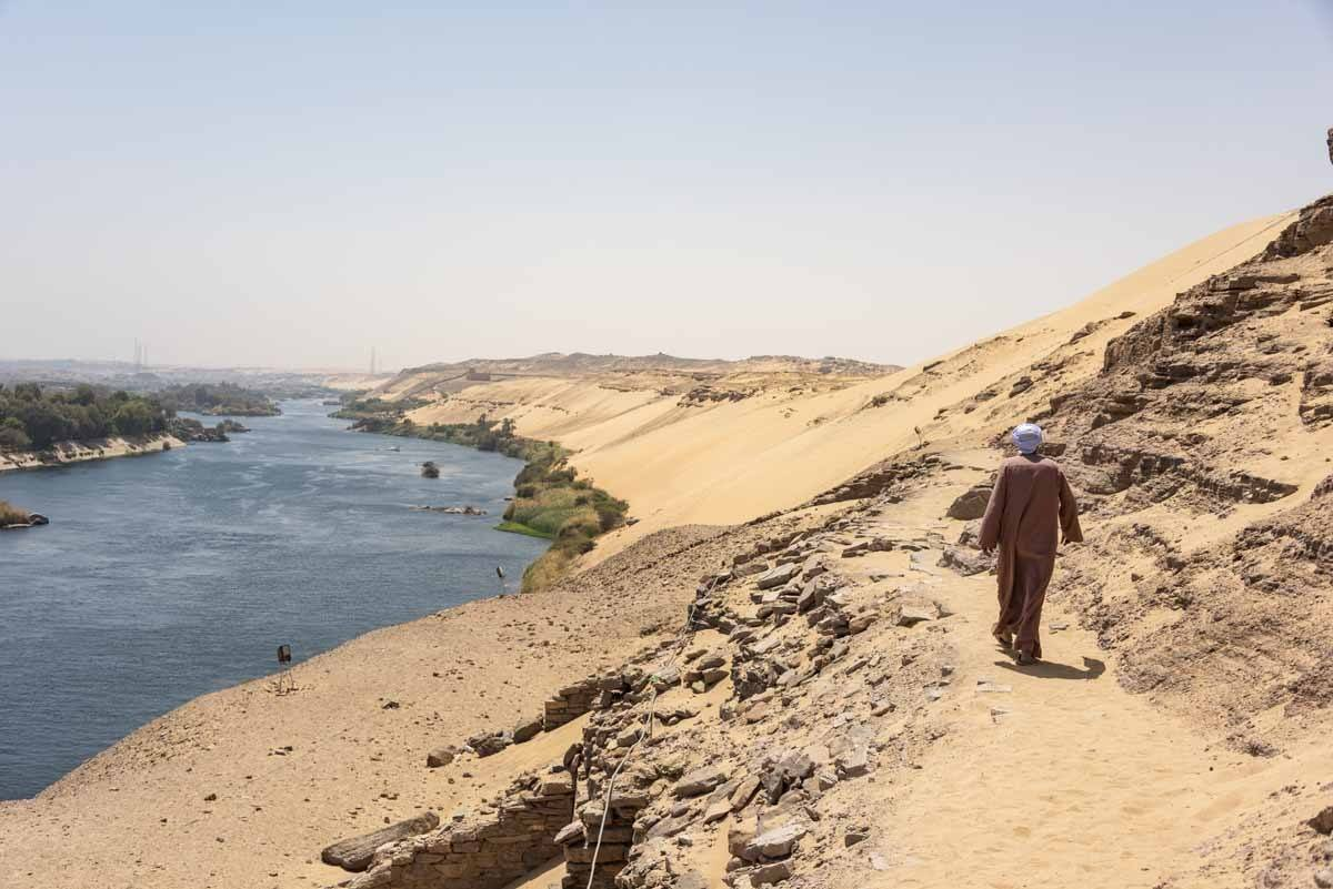 aswan nile views