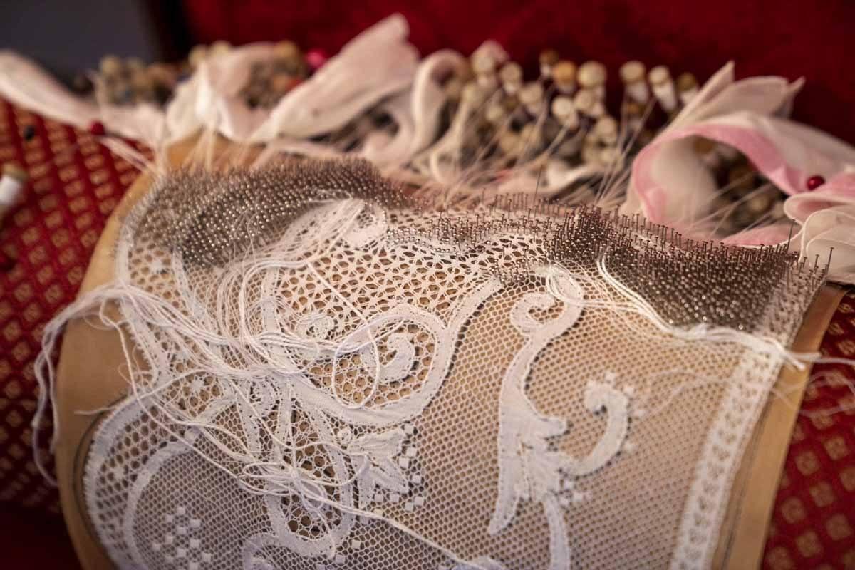 bobbin lace rapallo italy