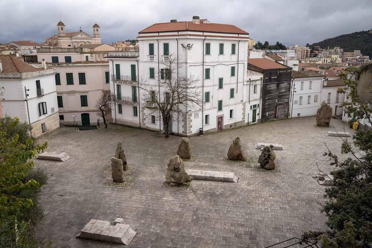 piazza satta nuoro sardinia