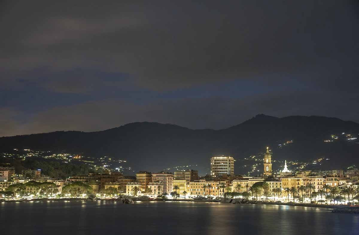 rapallo night pic
