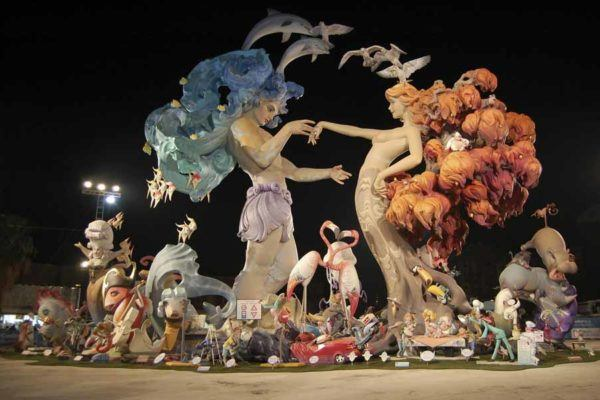 best spanish festivals las fallas