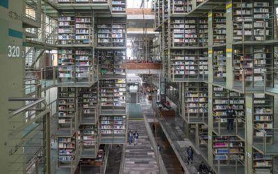 biblioteca vasconcelos non touristy mexico city
