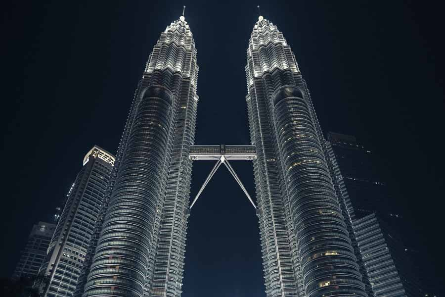 petronas close up