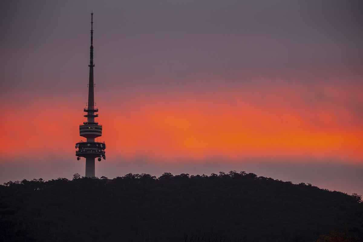 telstra tower canberra