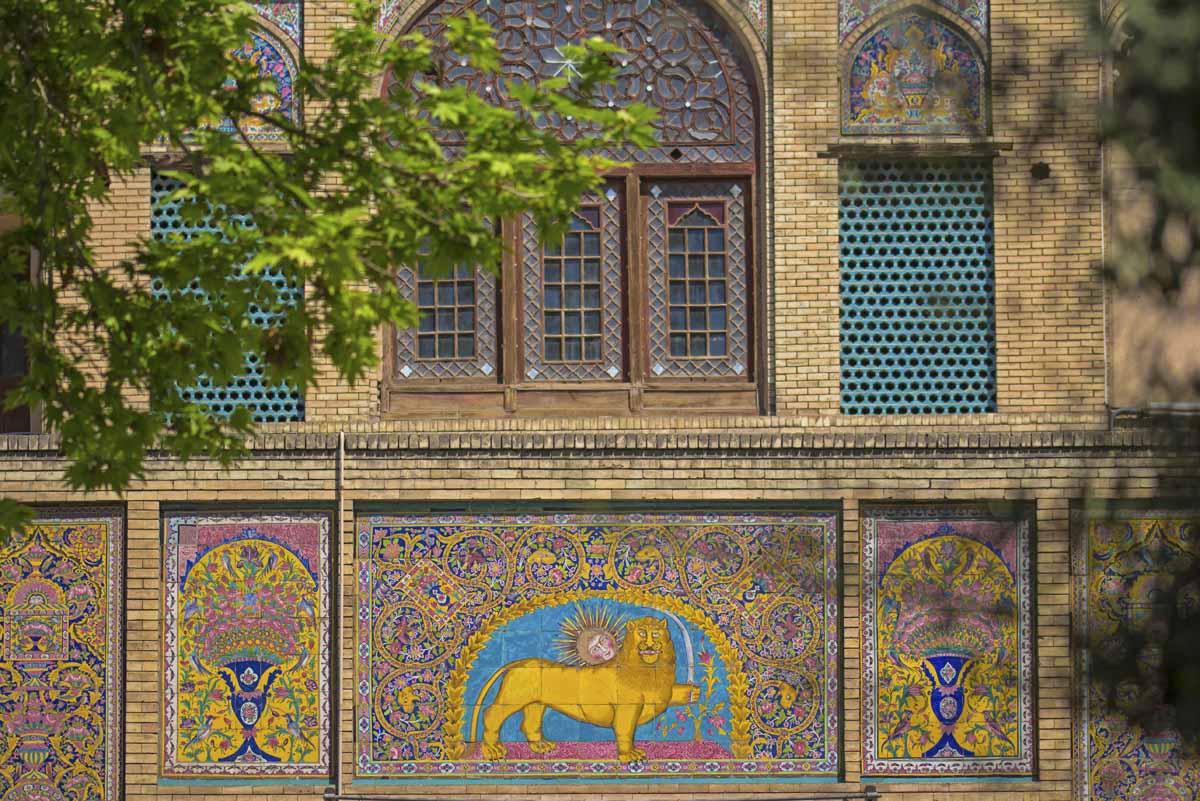 tehran mosaic