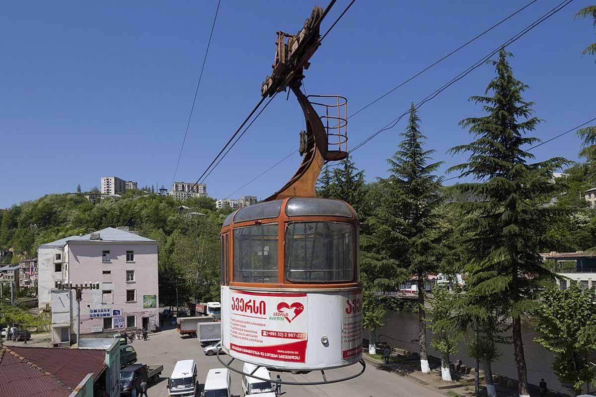 chiatura cable car tbilisi day trip