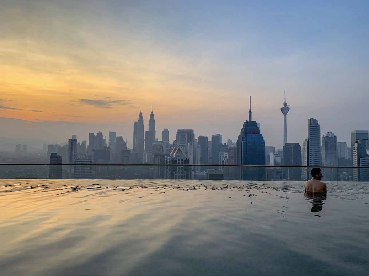 infinity pool regalia kl