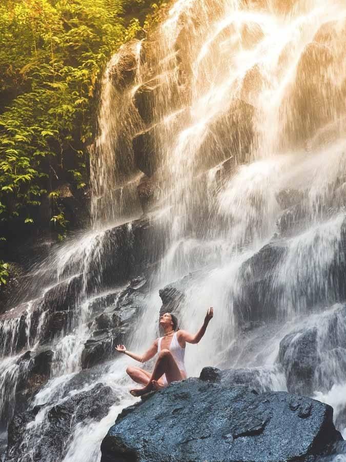 bali waterfalls kanto lampo
