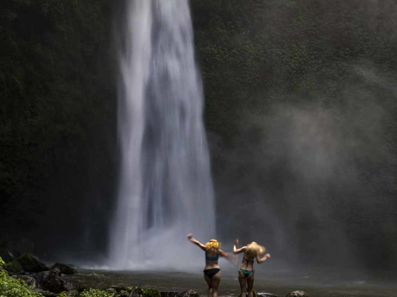 best waterfalls in bali nung nung