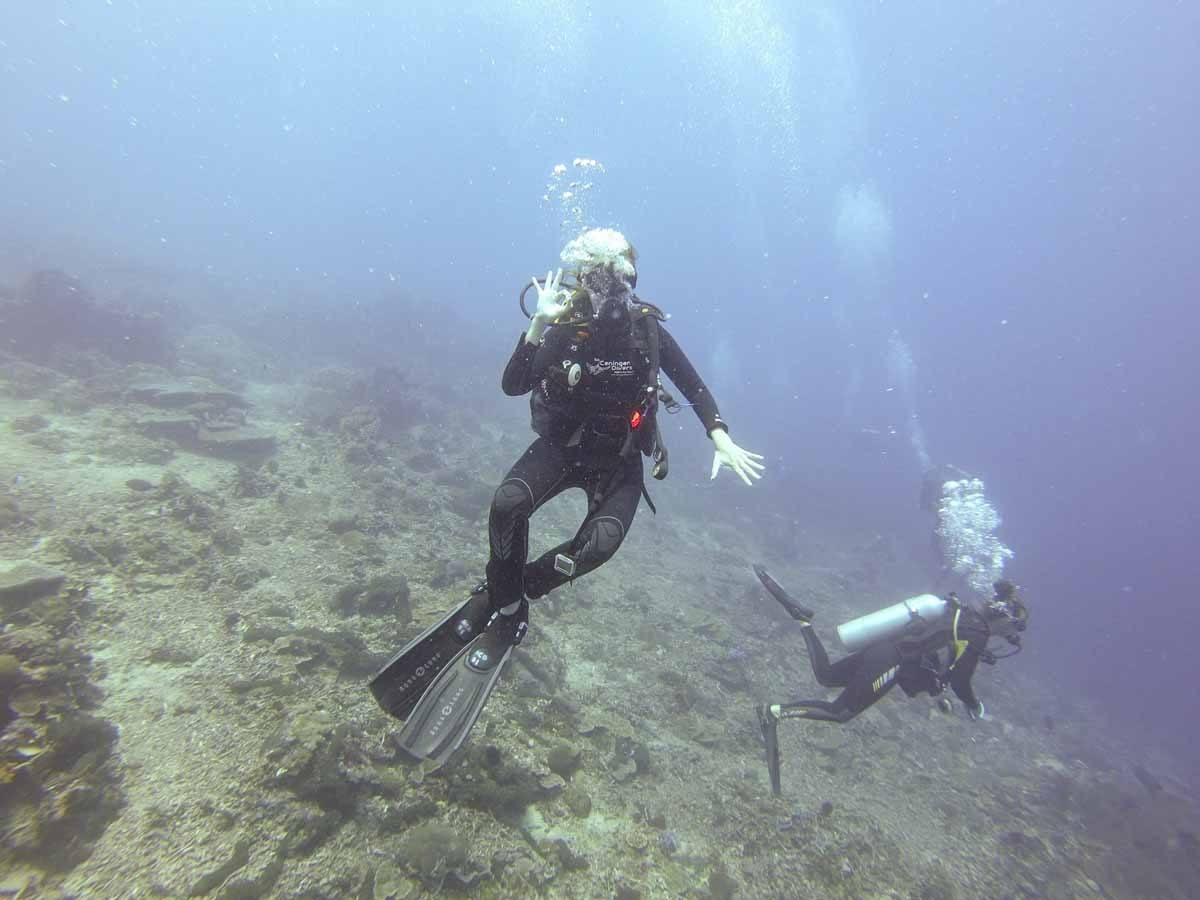 diving nusa ceningan