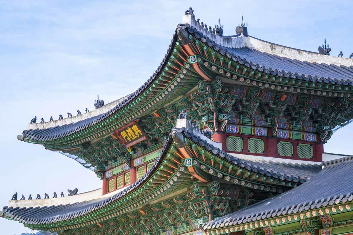 Jongno-gu temple seoul south korea