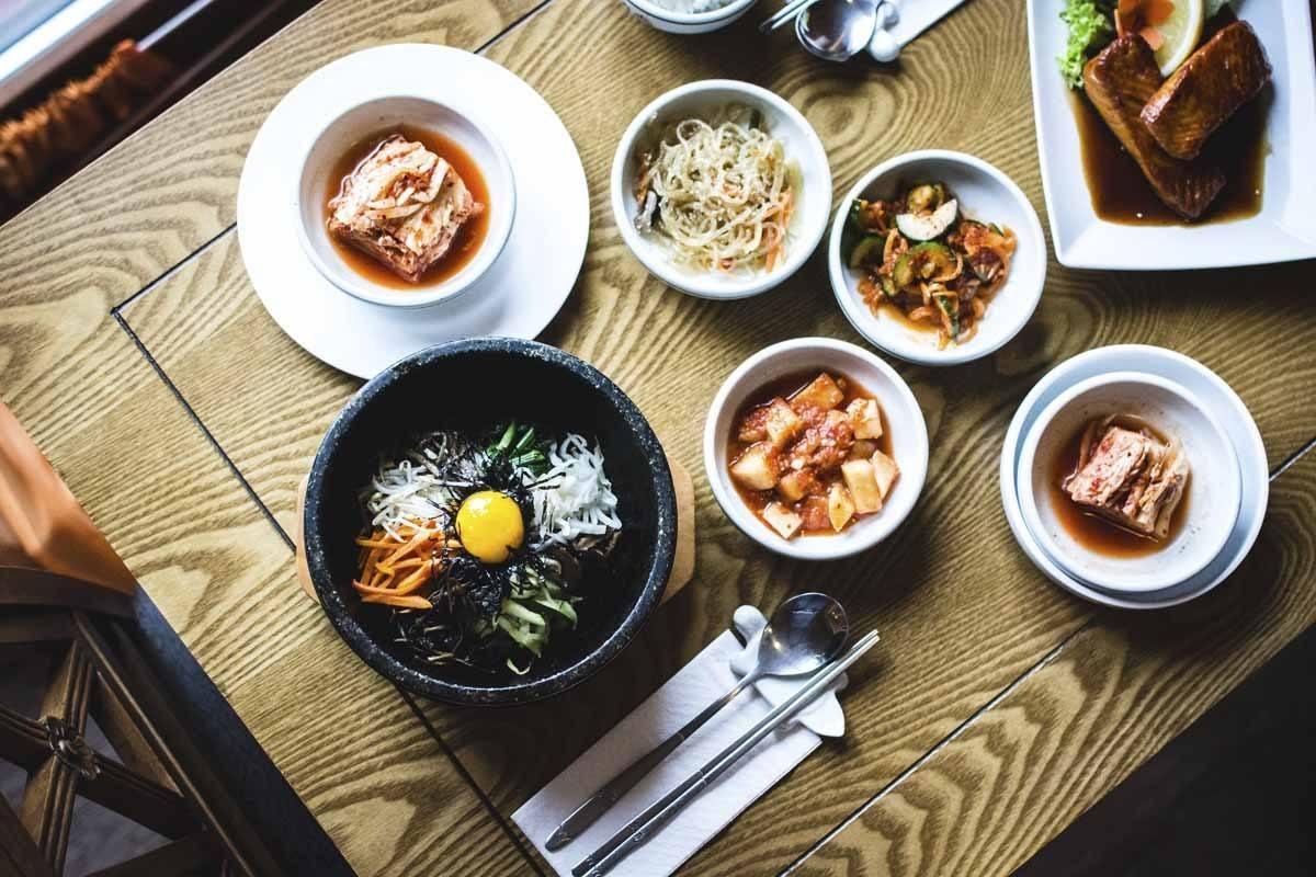 kimchi south korea restaurant