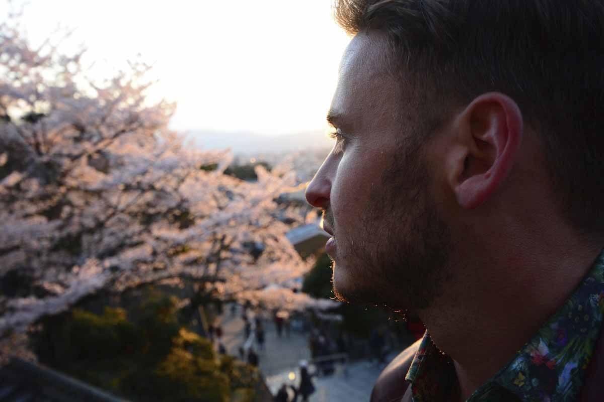 robert schrader at kiyomizu-dera