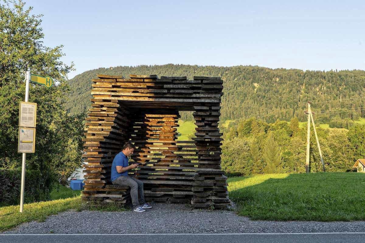 Vorarlberg Bus Stop-Marghe 2