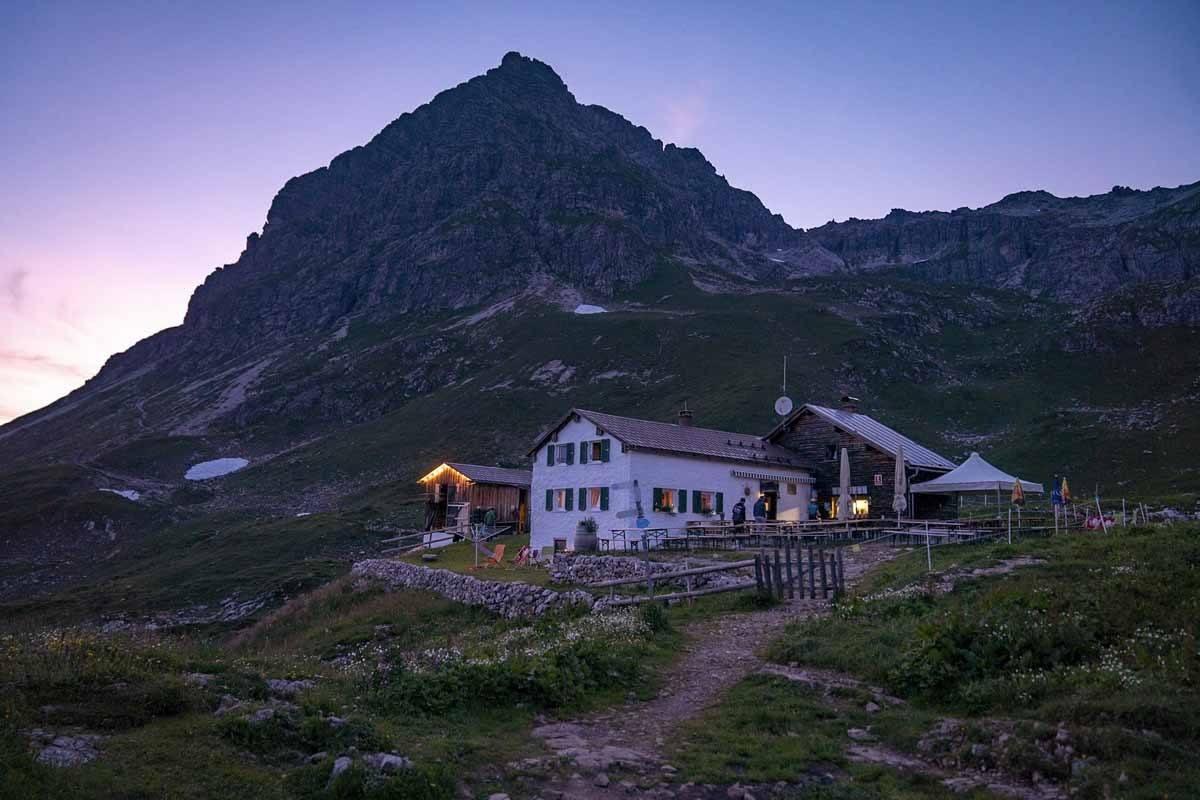 widderstein hutte purple hour