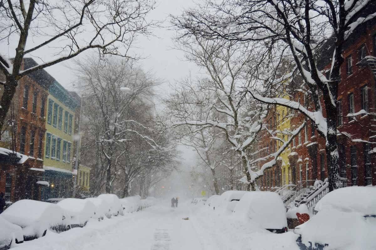 brooklyn snow winter