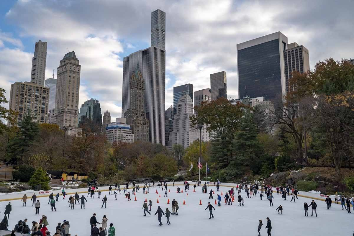 central park ice skating rink