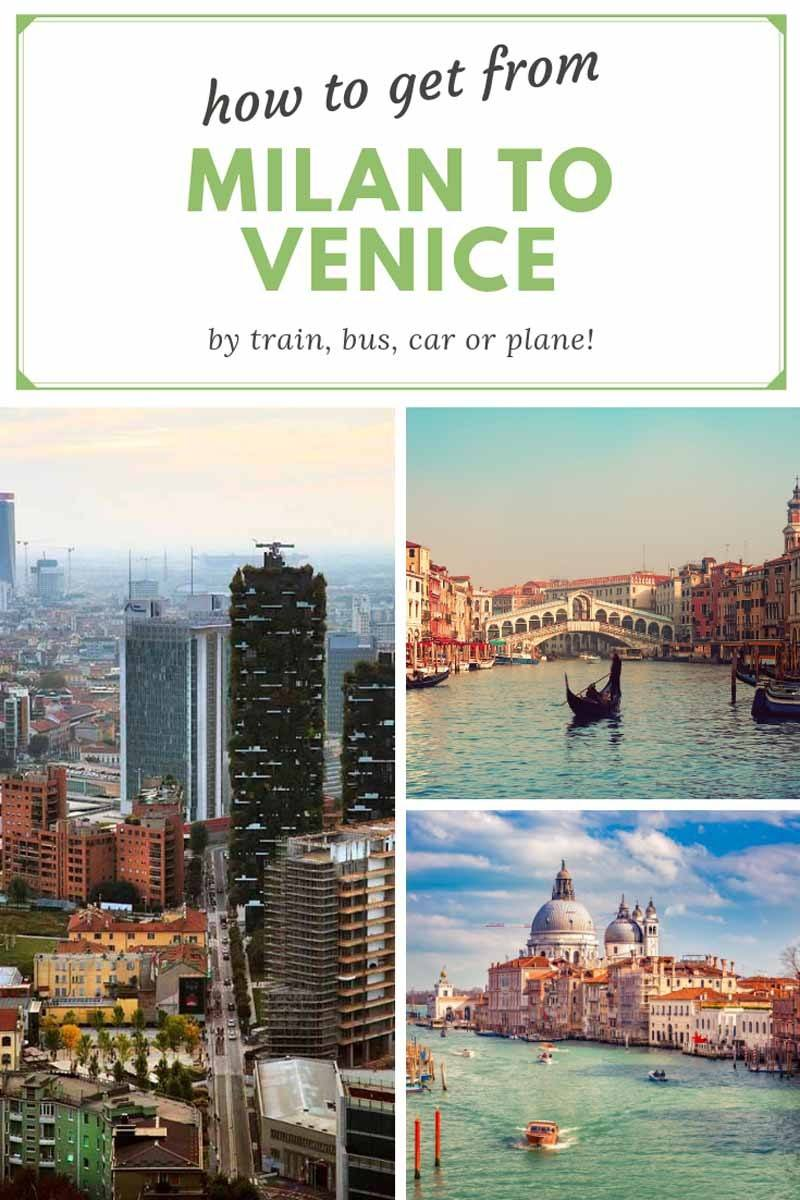 getting from milan to venice pin