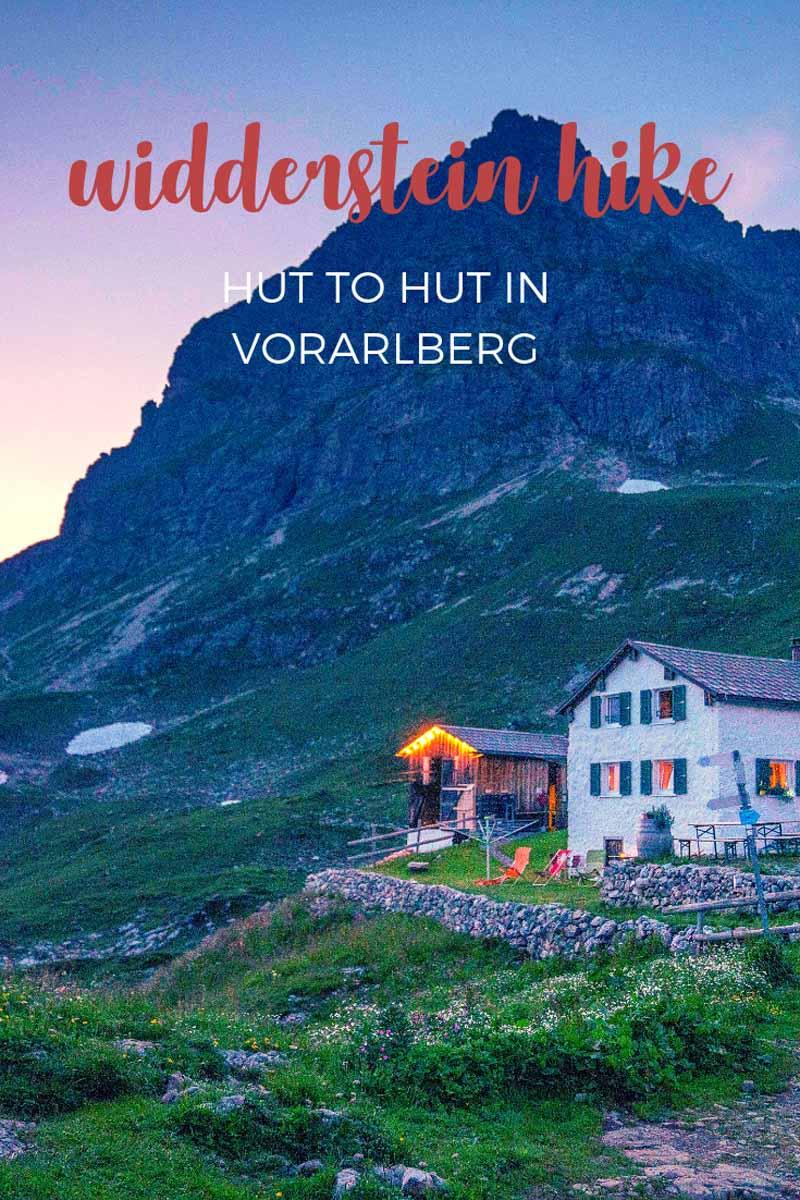 hiking widderstein pin 1