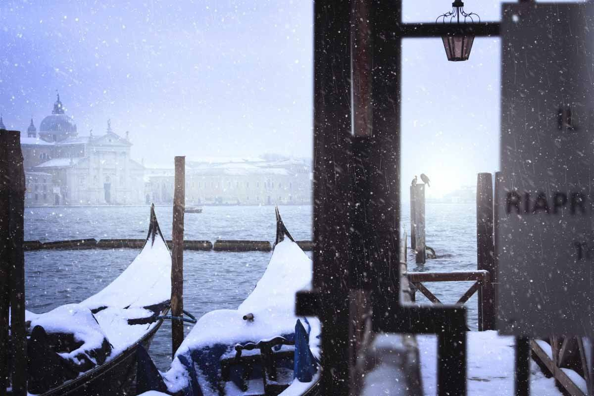 italy in winter venice