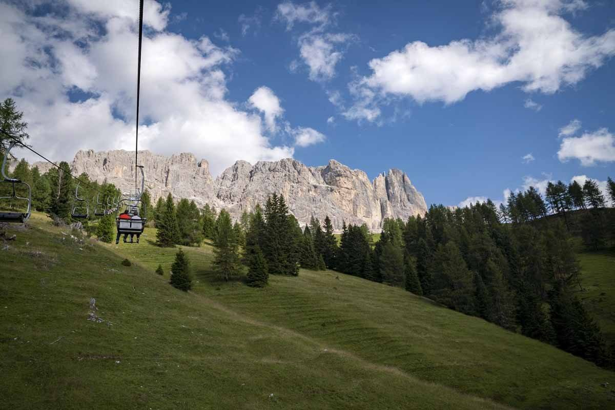 king laurin cable car dolomites