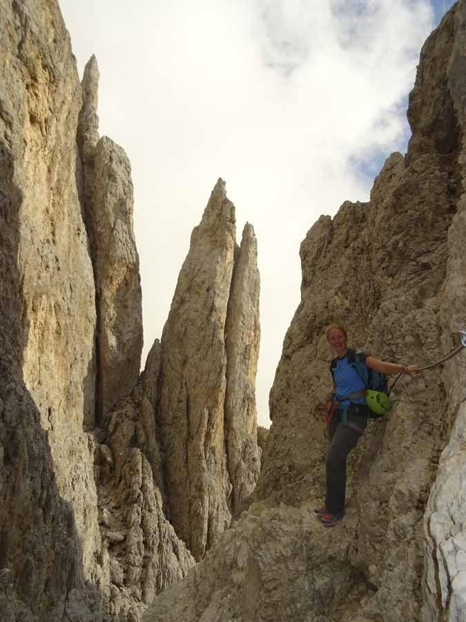 vajolet hiking dolomites