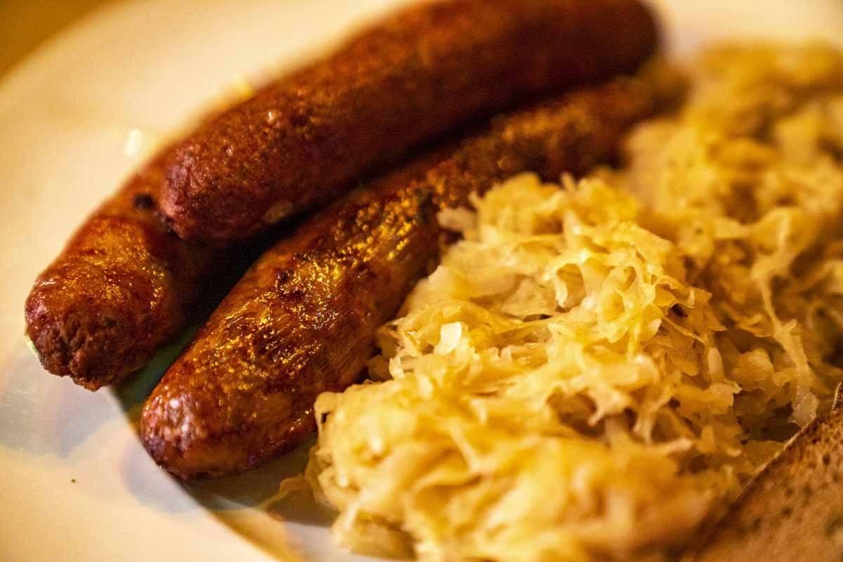 franconian food bratwurst