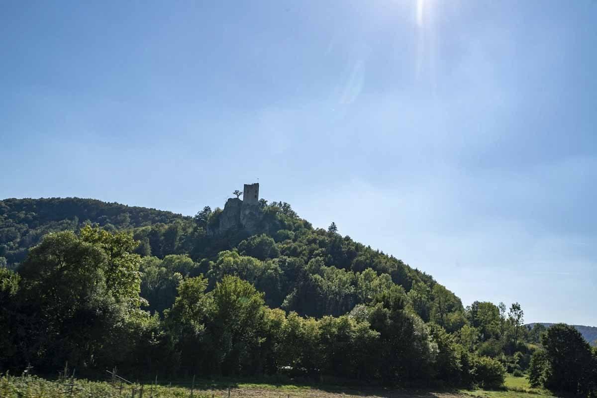 franconian switzerland neideck ruins