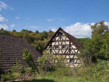 half timbered house franconia