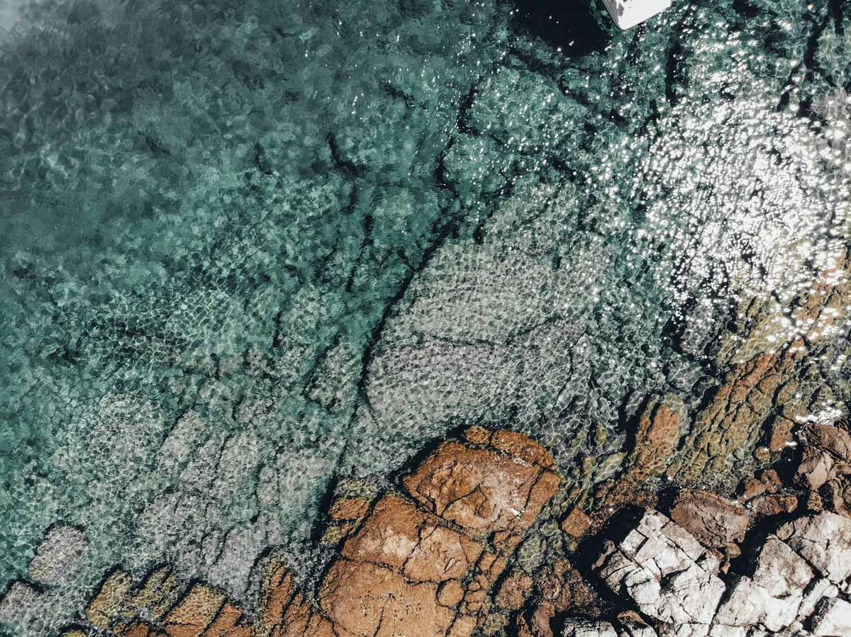 lokrun clear water dubrovnik