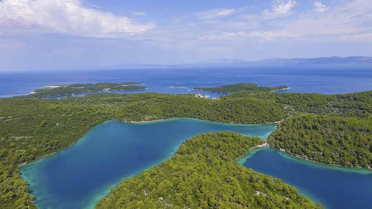 mljet island from dubrovnik