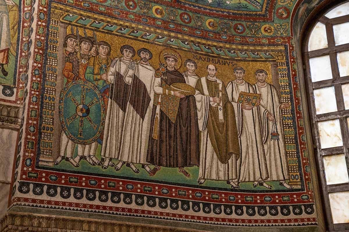 ravenna emperor mosaic