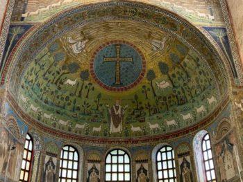 ravenna mosaics sant apollinare close