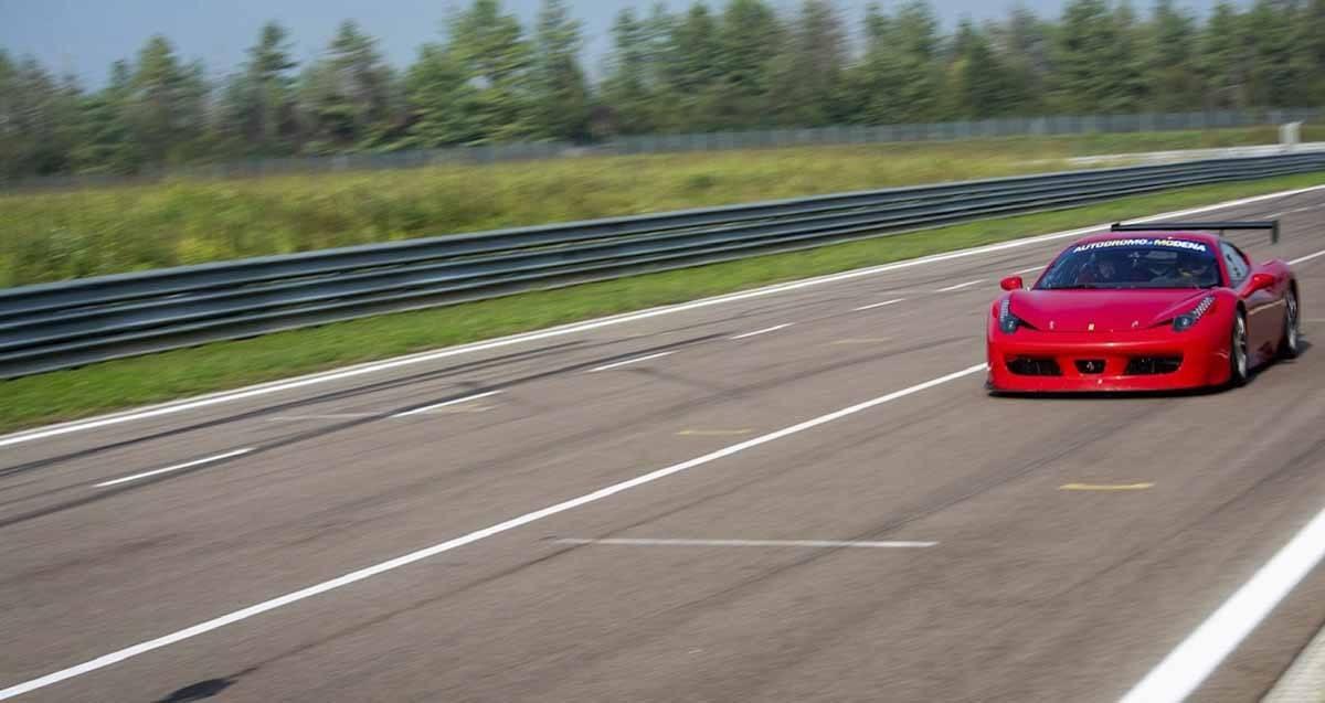 ferrari 458 red driving