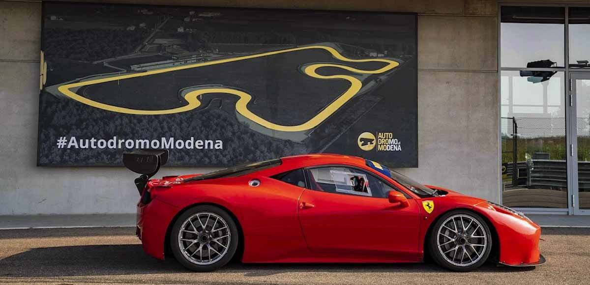 ferrari and modena race track
