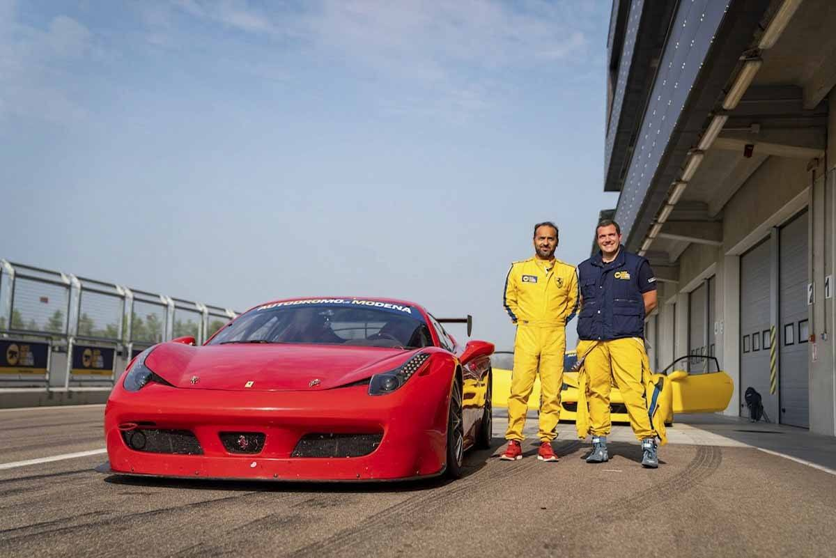Amazing Ferrari Driving Experience In Italy The Crowded Planet