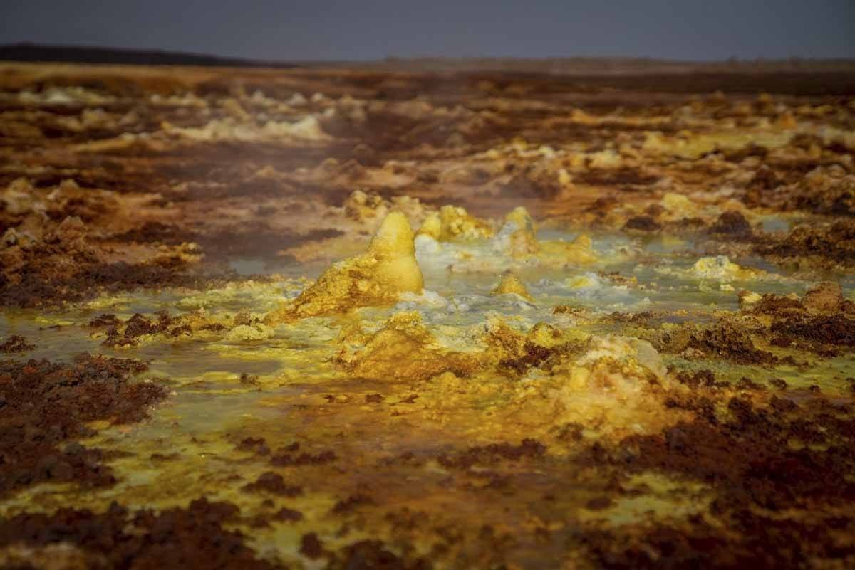 dallol acid pool