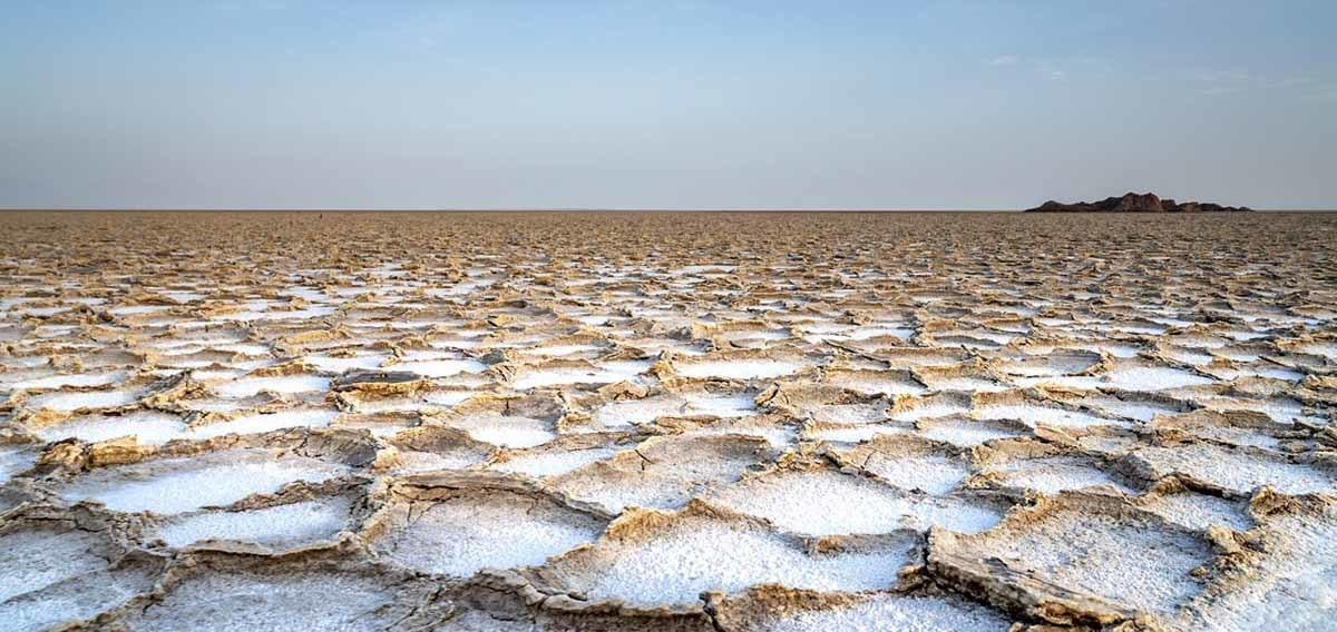 danakil depression salt crust