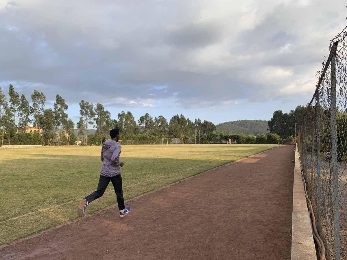 ethiopian runner training addis ababa